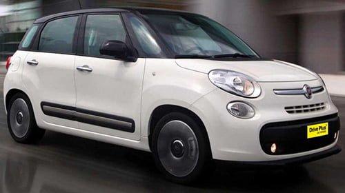 Fiat 500 L - Drive Plus Car Rentals