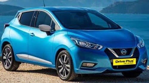 Nissan Micra - Drive Plus Car Rentals