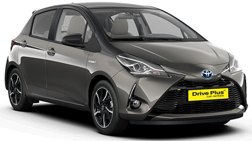 Toyota Yaris - Drive Plus Car Rentals