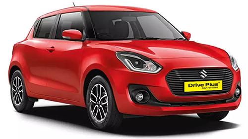 Suzuki Swift της κατηγορίας ενοικίασης μεσαίου αυτοκινήτων